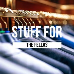 Men's clothes, shoes and accessories!
